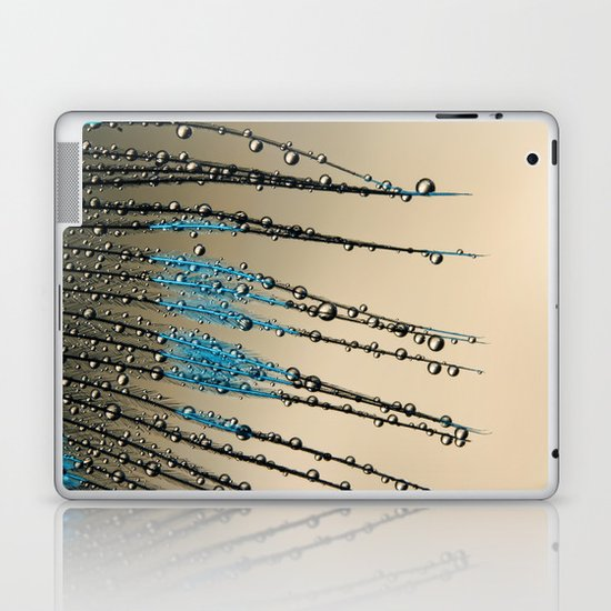 Feather Droplets Laptop & iPad Skin