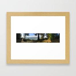 Hansville Panorama Framed Art Print