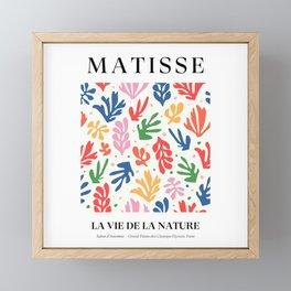 Nature Leaf Cut Outs | Henri Matisse Series Framed Mini Art Print