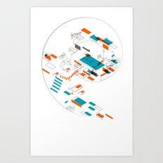 Masnion Art Print