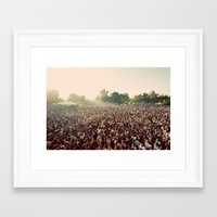 it crowd Framed Art Prints featuring crowd by Jason Domingues