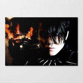 "Noomi Rapace as Lisbeth Salander in the film ""Millenium"" Canvas Print"