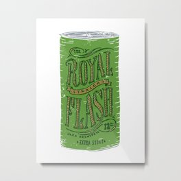 Royal Straight Flash Metal Print
