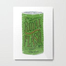 Royal Straight Flash Metal Print