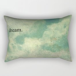 Dream Vintage Sky Pattern Rectangular Pillow