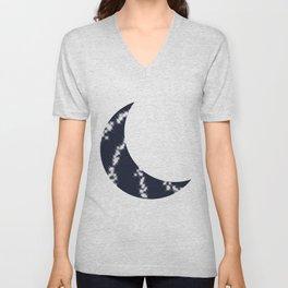 Cresent Moon Unisex V-Neck