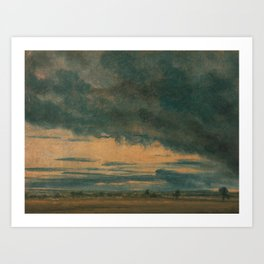John Constable - Cloud Study Art Print