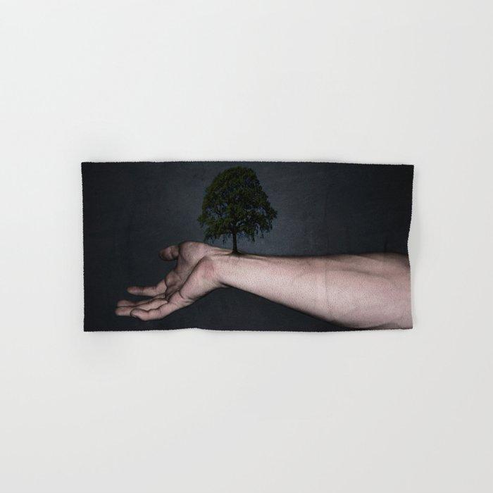Nature inside me Hand & Bath Towel