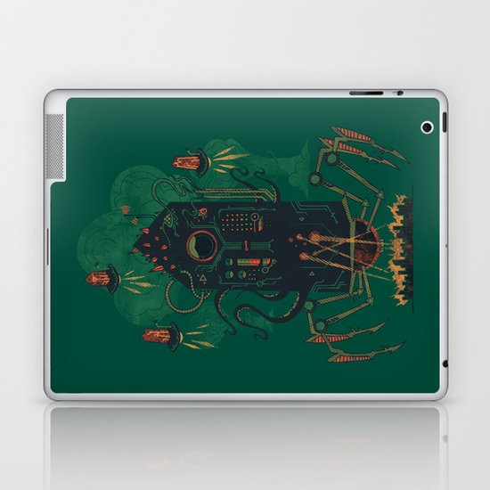 Not with a whimper but with a bang Laptop & iPad Skin