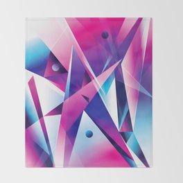 Geometric I Throw Blanket