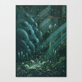 Toxic Jungle Canvas Print