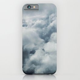 A Power Greater Than Ourselves (Majestic Clouds) iPhone Case