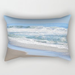 Baby Blue Ocean Rectangular Pillow