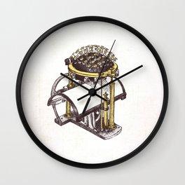 Writing Ball - Wonderful Inventions Wall Clock