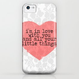 Little Things- One Direction iPhone Case
