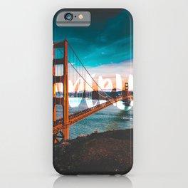 WANDERLUST San Francisco iPhone Case