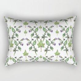 Belladonna Pattern Rectangular Pillow