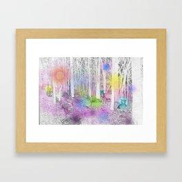 Speaking Elk Framed Art Print
