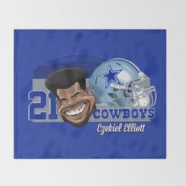 """""""Zeke"""" 2016 Throw Blanket"""