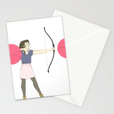 Shoot Straight Stationery Cards