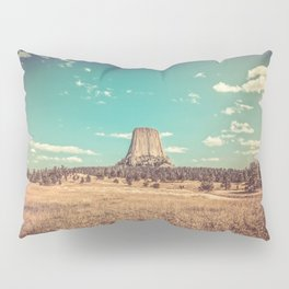 Devil's Tower National Monument Wyoming Pillow Sham