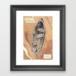 A Phoenician prayer Framed Art Print