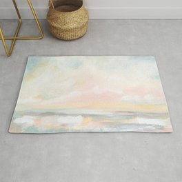 Rebirth - Pastel Ocean Seascape Rug