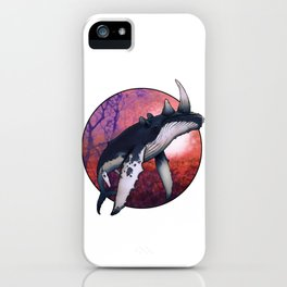 Whale Oil iPhone Case