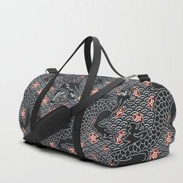 Hidden Dragon / Oriental dragon design Duffle Bag