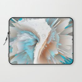 Bursts Of Teal Laptop Sleeve