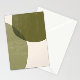 Minimal Semicircles Stationery Cards