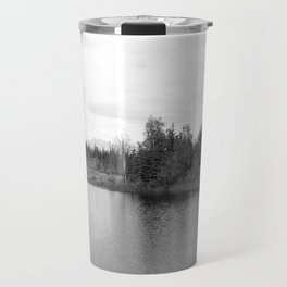 Summer Landscape B&W Travel Mug