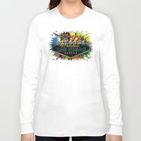 las vegas Long Sleeve T-shirts featuring Welcome to Las Vegas by Gary Grayson