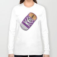 vans Long Sleeve T-shirts featuring Cute Purple Vans all star baby shoes apple iPhone 4 4s 5 5s 5c, ipod, ipad, pillow case and tshirt by Three Second