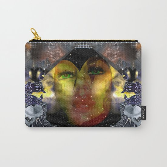 Take the dreams of peacefulness as arms against deceitfulness Carry-All Pouch