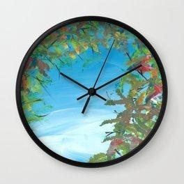 """Tomorrow"" Wall Clock"