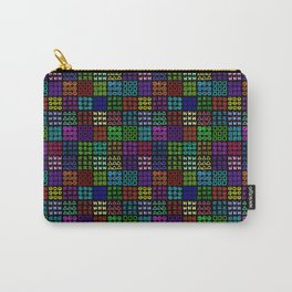 Aztec Wannabe (Black) Carry-All Pouch