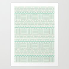 sierra aguamarina Art Print