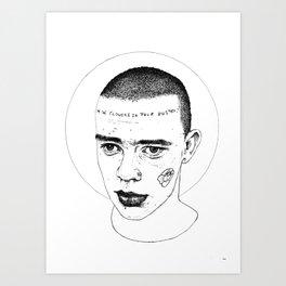Skinhead 1 Art Print