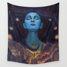 Goddess of Night Wall Tapestry