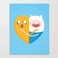 best friends Canvas Prints featuring Best friends  by Manfred Maroto