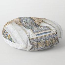 Moroccan Fountain Floor Pillow