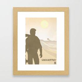 Vector Uncharted Framed Art Print