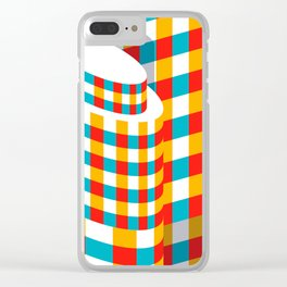 New York - Lipstick Clear iPhone Case
