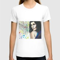 amelie T-shirts featuring Amelie by Jessis Kunstpunkt.