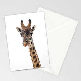 Masai Giraffe Stationery Cards