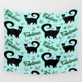 Fabulous Felines Wall Tapestry