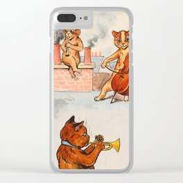 CATS ORCHESTRA - Louis Wain Cats Clear iPhone Case