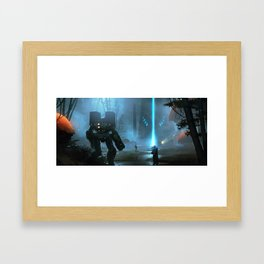 The Spirit Swamp Framed Art Print
