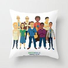 GreenDale Throw Pillow